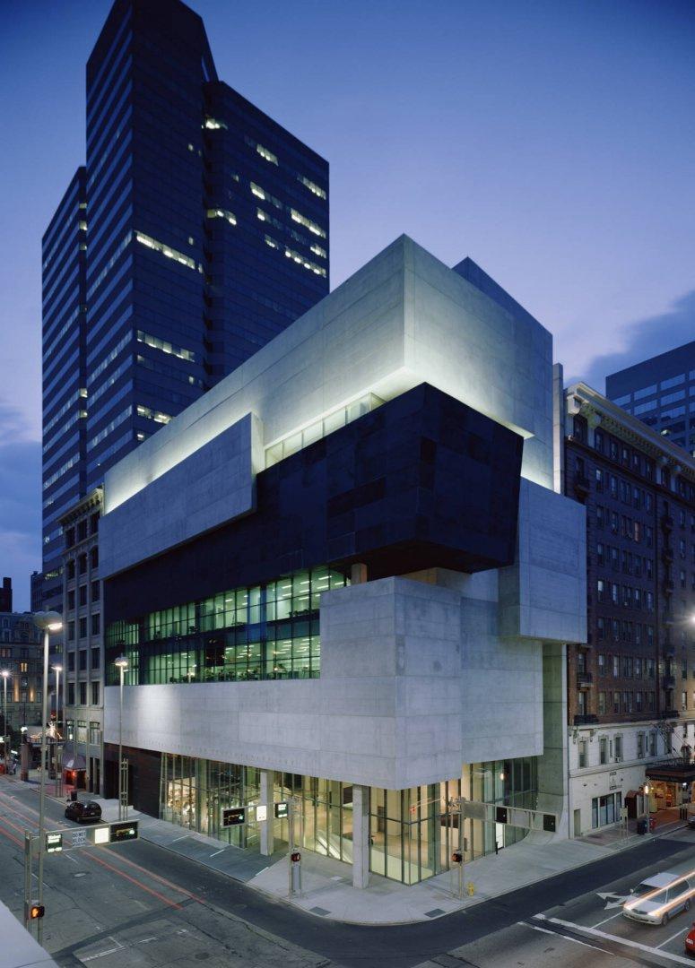 Zaha Hadid. Rosenthal Center for Contemporary Art