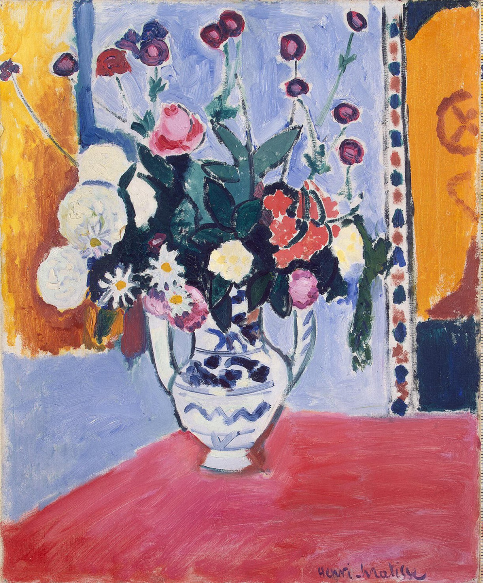 Henri Matisse. Vase with two handles