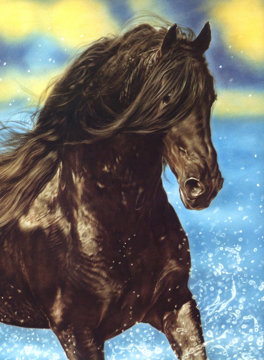 Лесли Харрисон. Лошадь