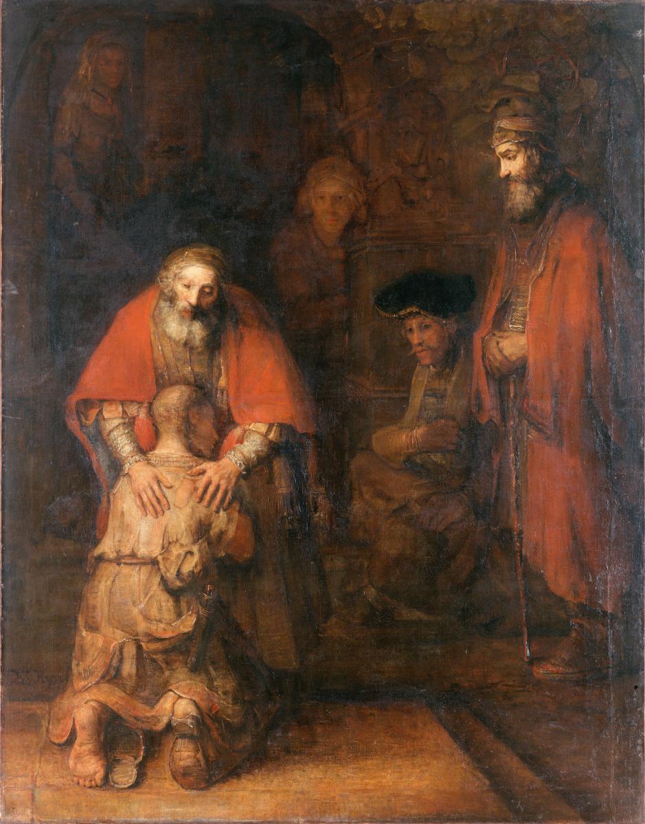 Рембрандт Ван Рейн. Возвращение блудного сына