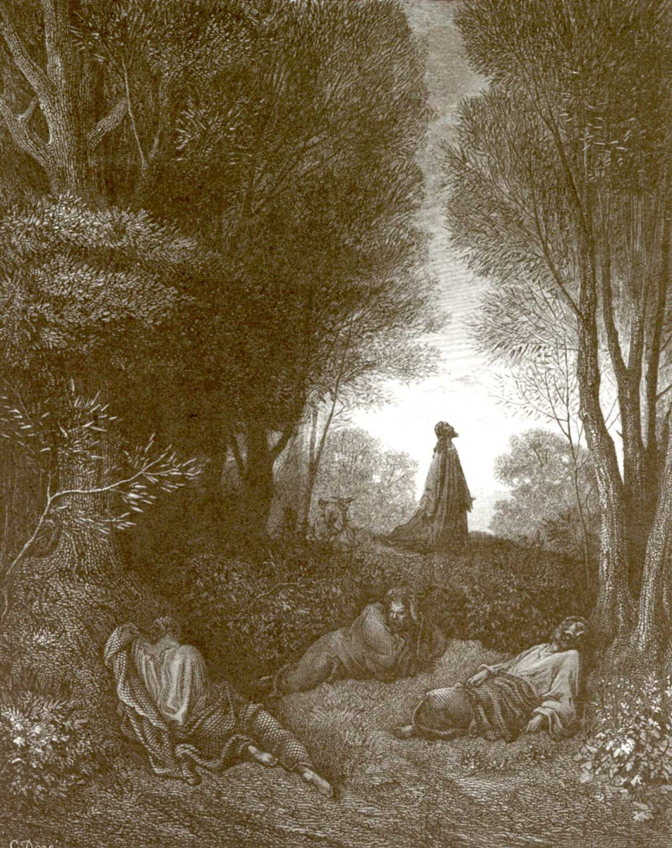 Illustration to the Bible: In the garden of Gethsemane by Paul ...