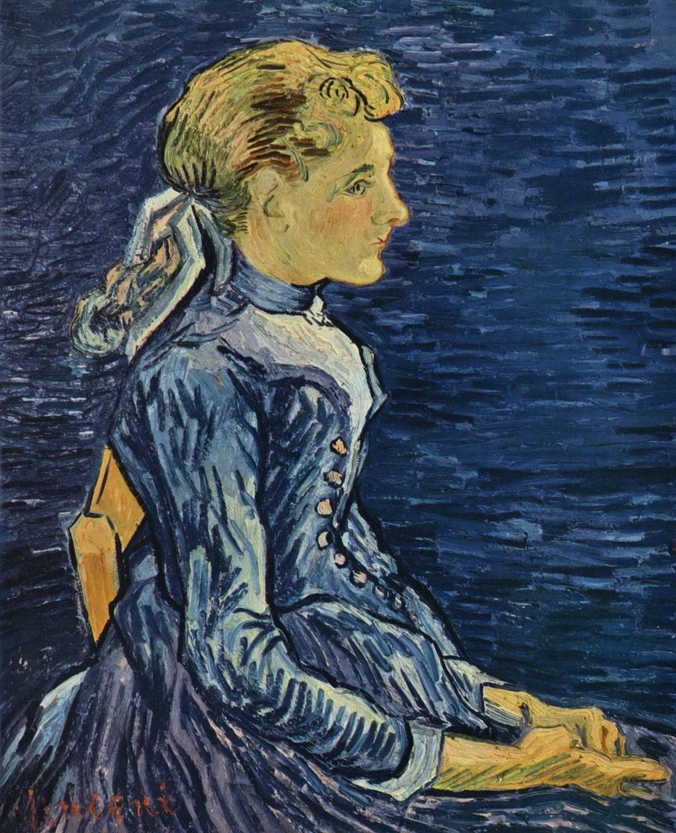 Винсент Ван Гог. Портрет мадемуазель Раву