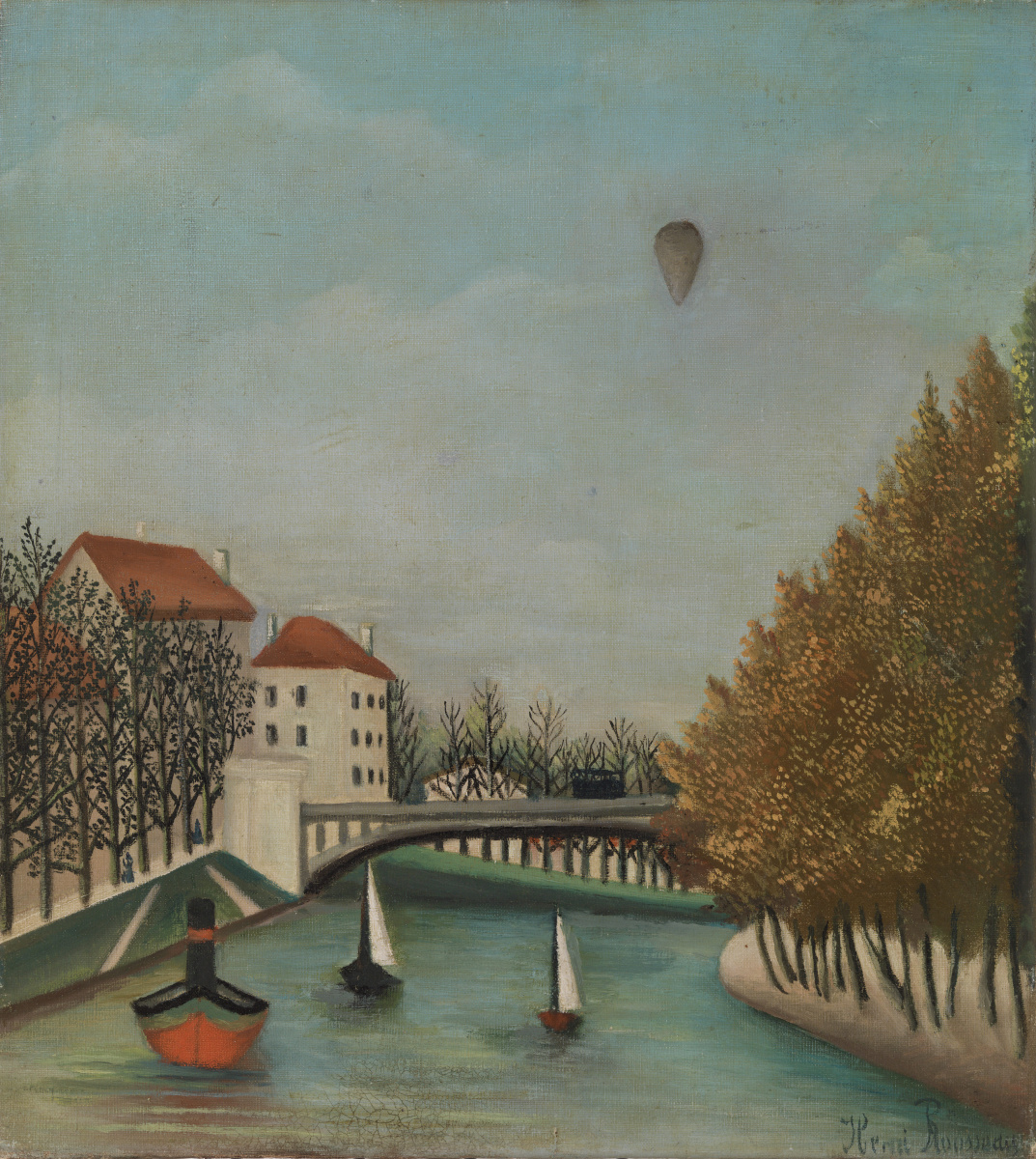 Анри Руссо. Вид Севрского моста