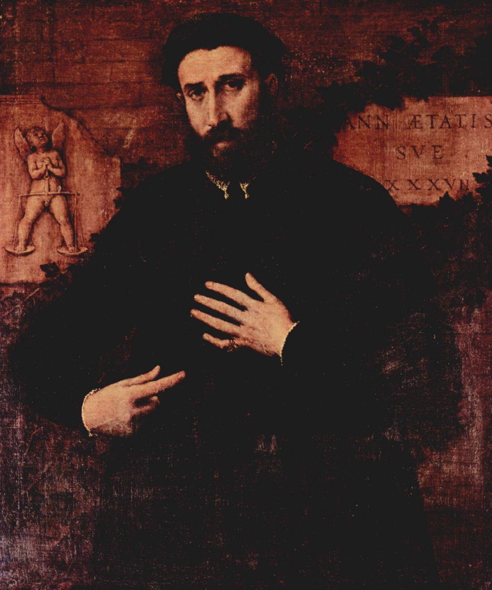 Лоренцо Лотто. Портрет тридцатисемилетнего мужчины