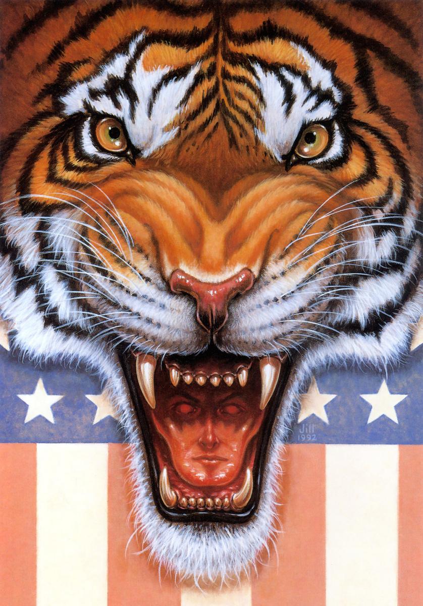 Джилл Бауман. Тигр