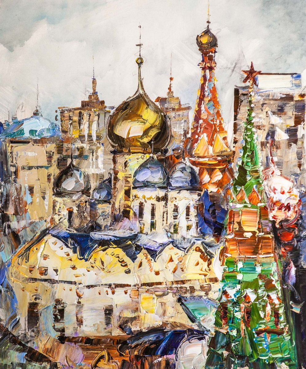 Jose Rodriguez. Moscow is golden-domed. In the spiritual heart of the capital