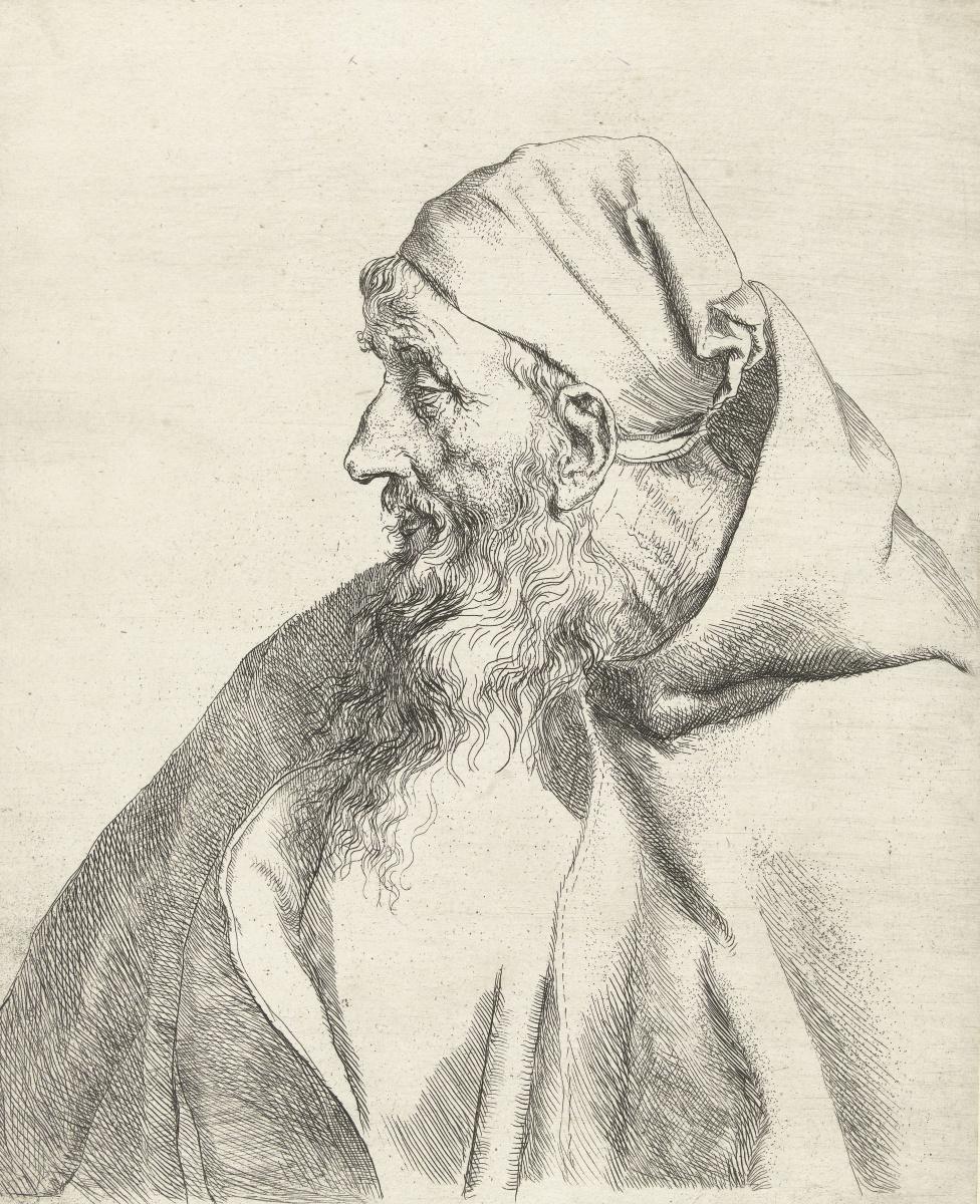 Ян Ливенс. Портрет монаха капуцинов