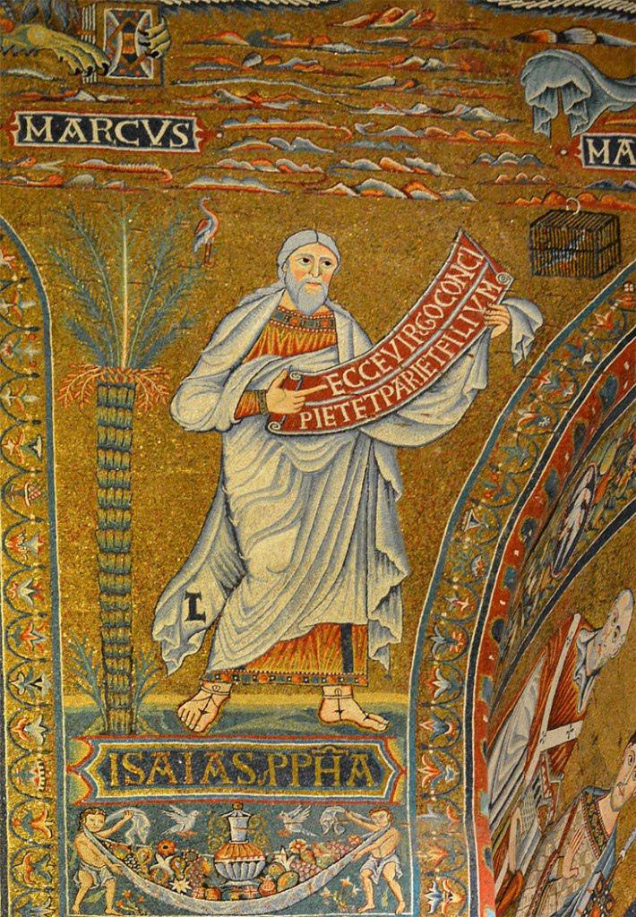 Mosaic of Cavallini in the Church of Santa Maria in Trastevere