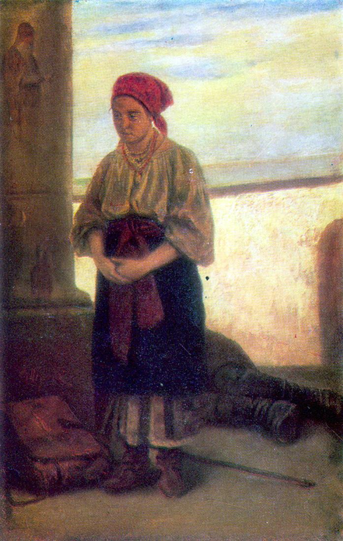 Василий Григорьевич Перов. Паломница