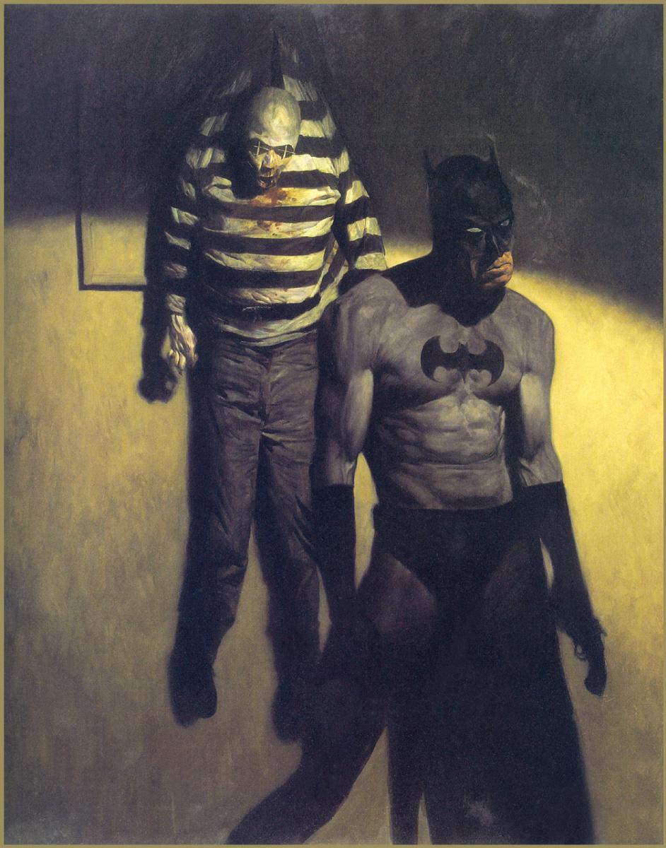 Фил Хейл. Бетмен. Городская легенда