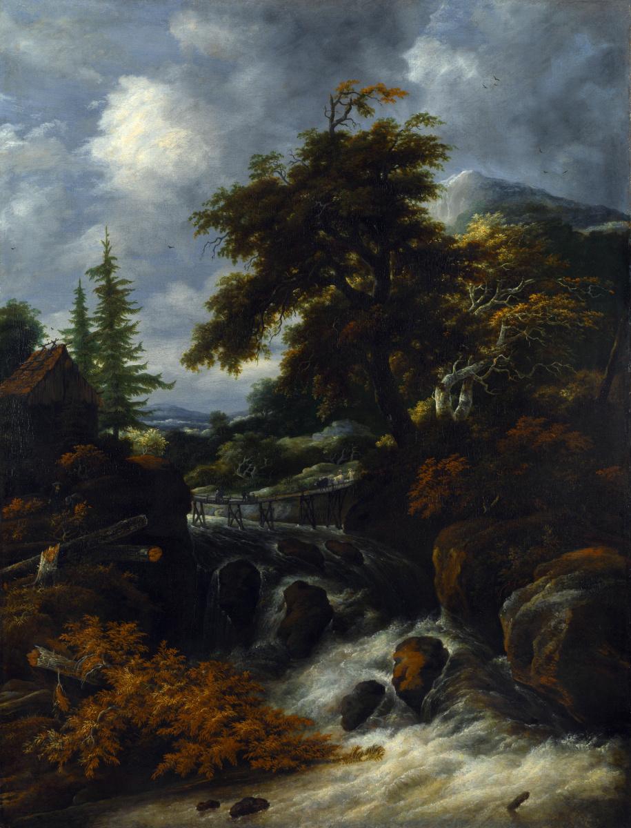 Саломон ван Рёйсдал. Водопад