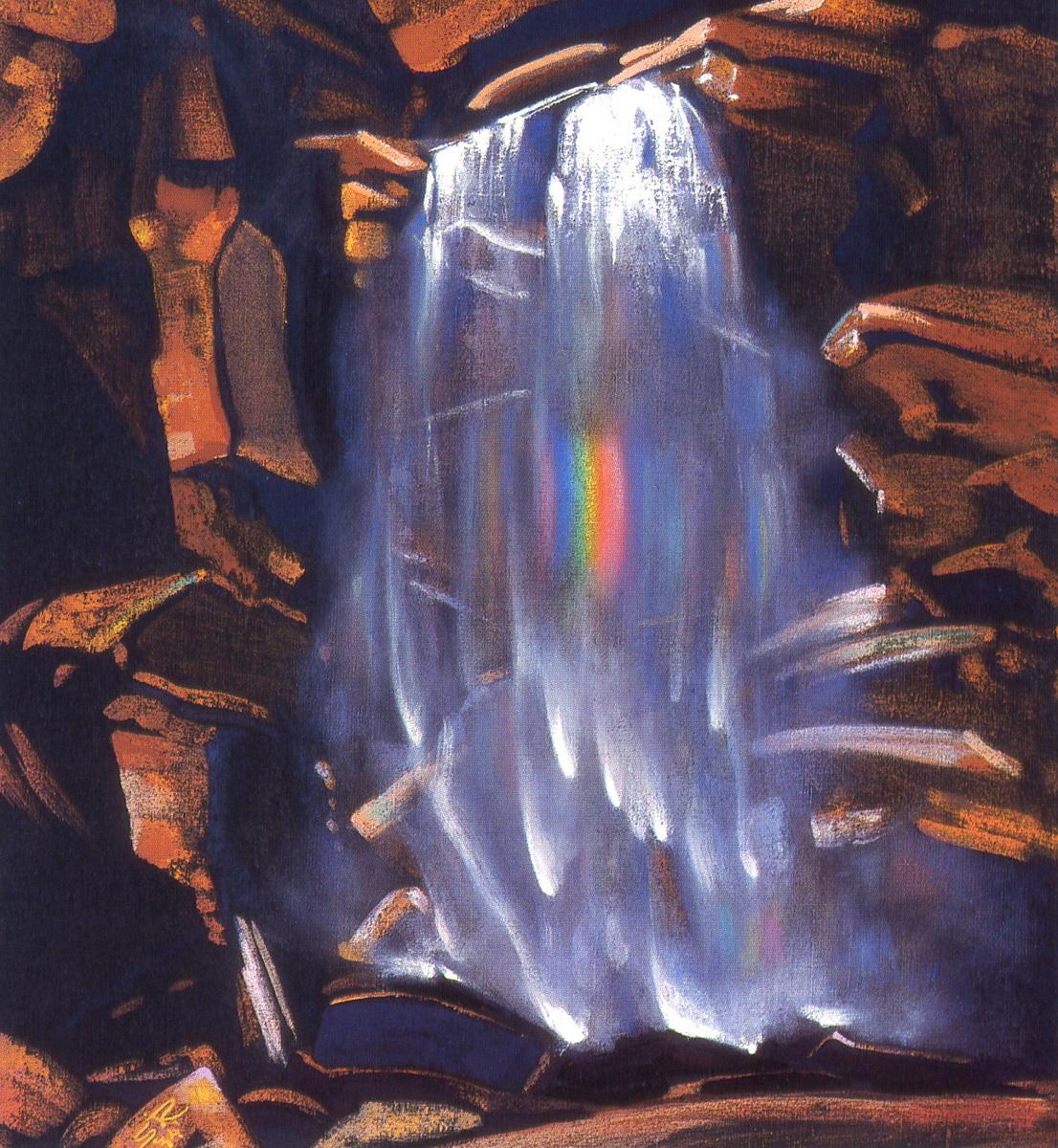 Svyatoslav Nikolaevich Roerich. Rainbow waterfall