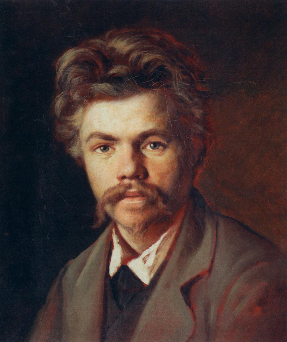 Василий Григорьевич Перов. Портрет неизвестного (Этюд портрета молодого человека в сером пиджаке)