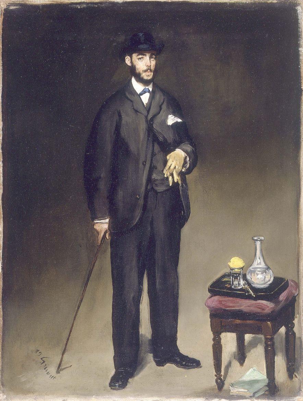 Edouard Manet. Portrait Of Theodore Duret