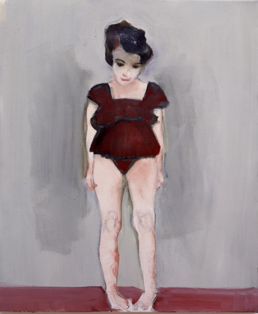 Marlene Dumas. Bashfulness