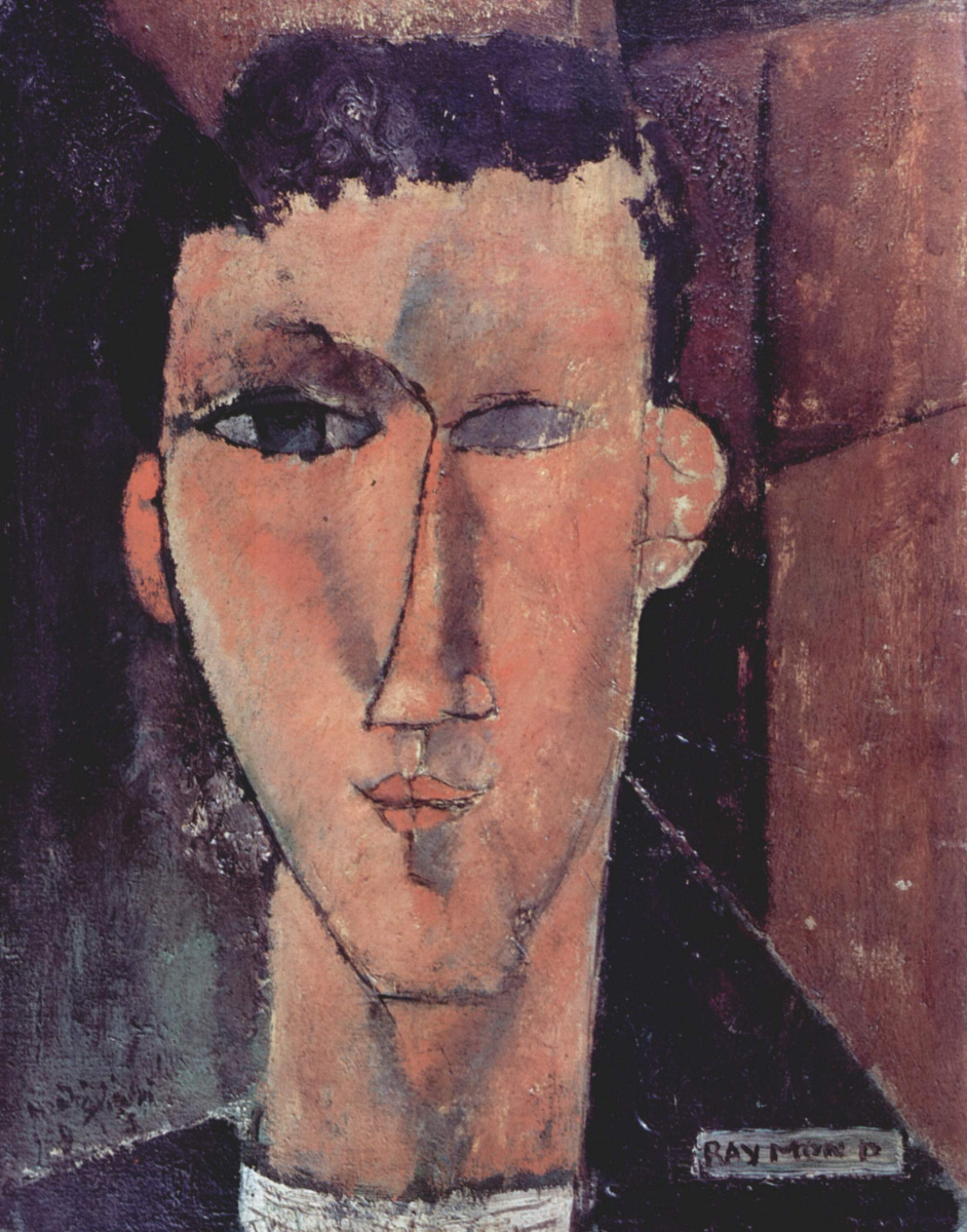 Амедео Модильяни. Портрет Раймона