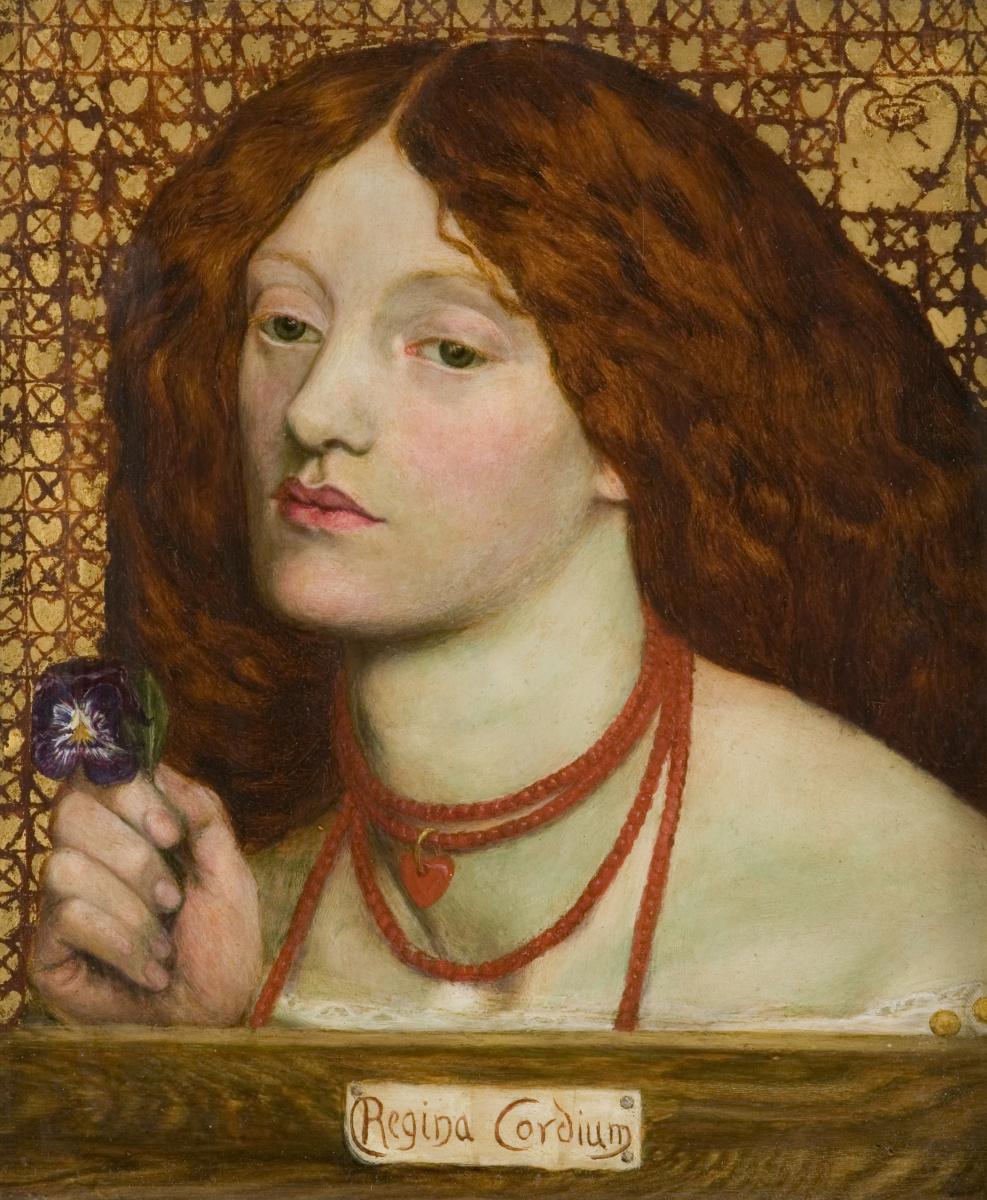 Данте Габриэль Россетти. Королева сердец. Портрет Элизабет Сиддал