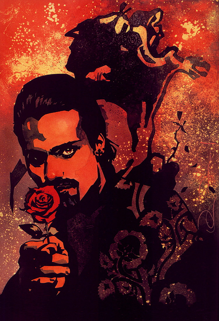 Джон Ван Флот. Красная роза