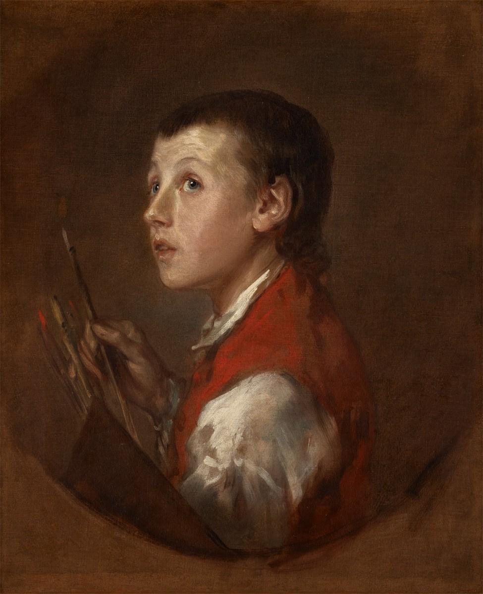 Томас Гейнсборо. Мальчик из Питминстера. Портрет юного подмастерья