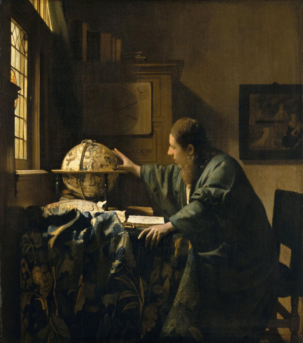 Jan Vermeer. Astronomer