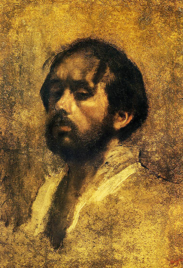 Edgar Degas. Self-portrait