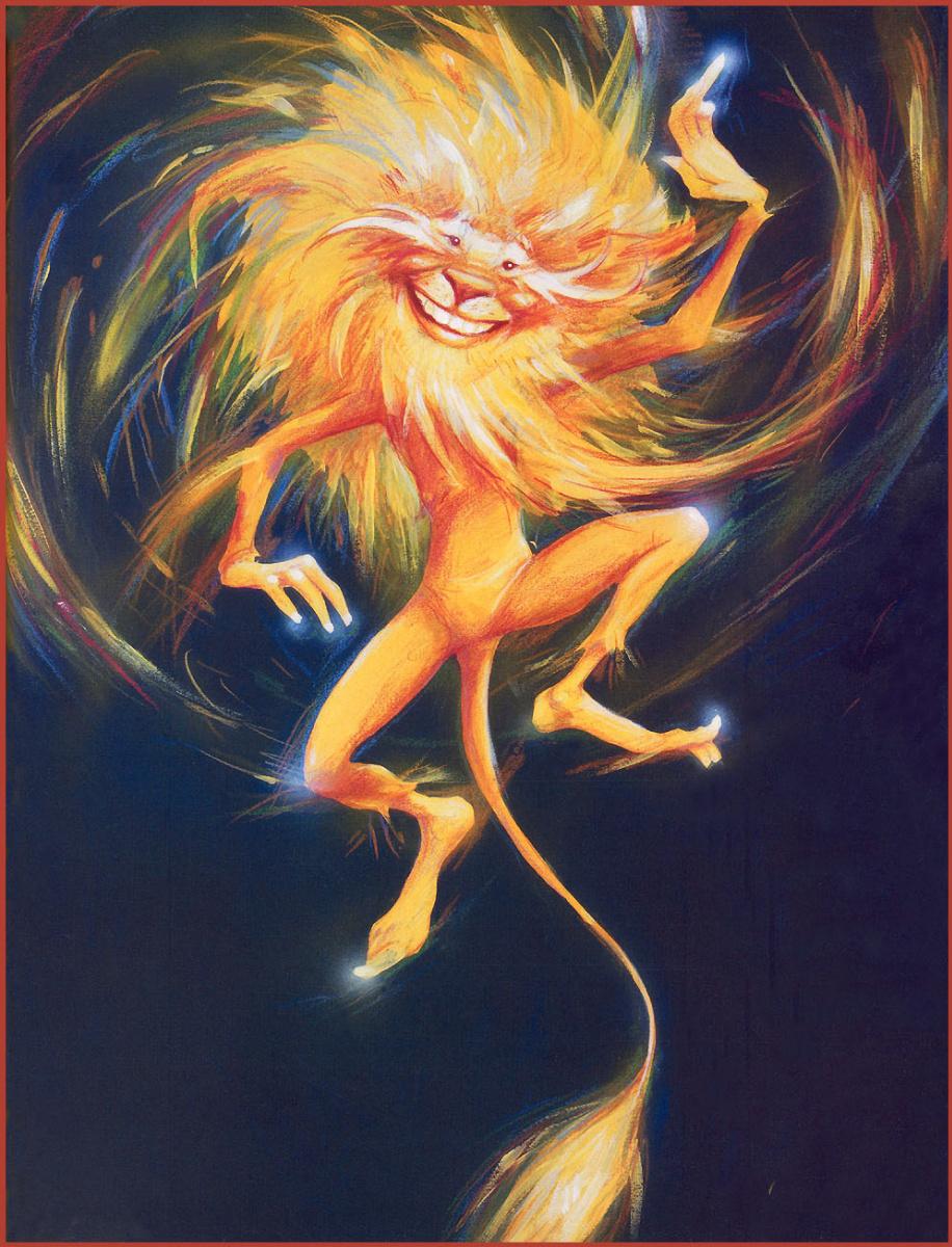 Брайан Фруд. Веселый лев