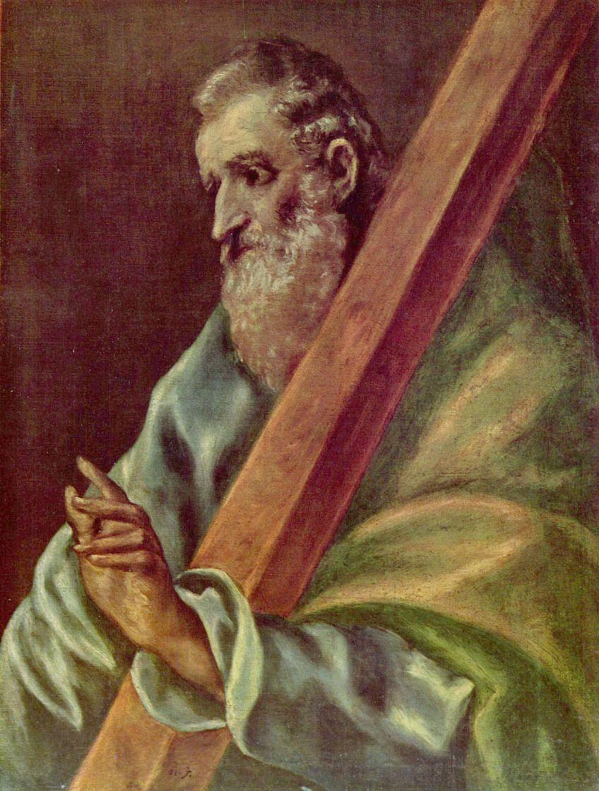 Доменико Теотокопули (Эль Греко). Апостол Святой Андрей