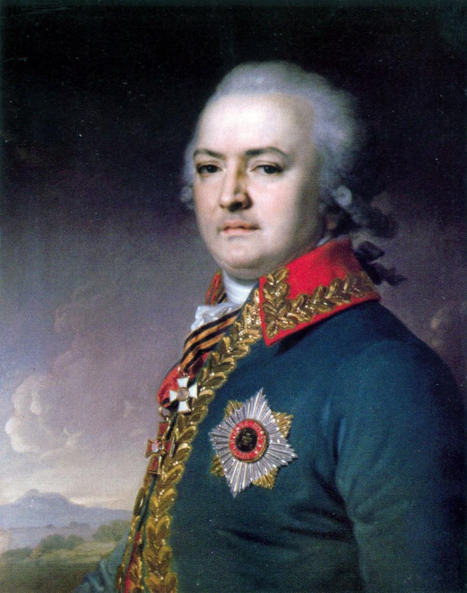 Владимир Лукич Боровиковский. Портрет Александра Васильевича Поликарпова