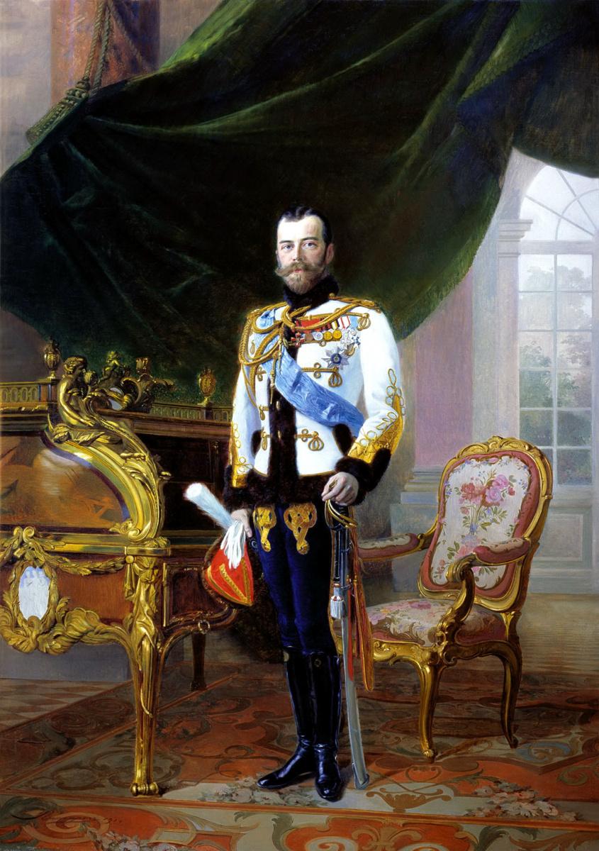 Эрнест Липгарт. Император Николай II
