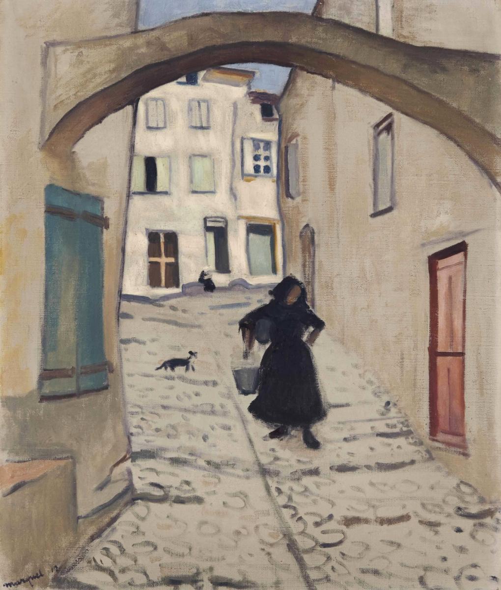 Albert Marquet. Street in Collioure