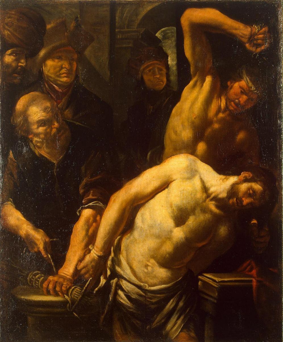 Джоаккино Ассерето. Бичевание Христа