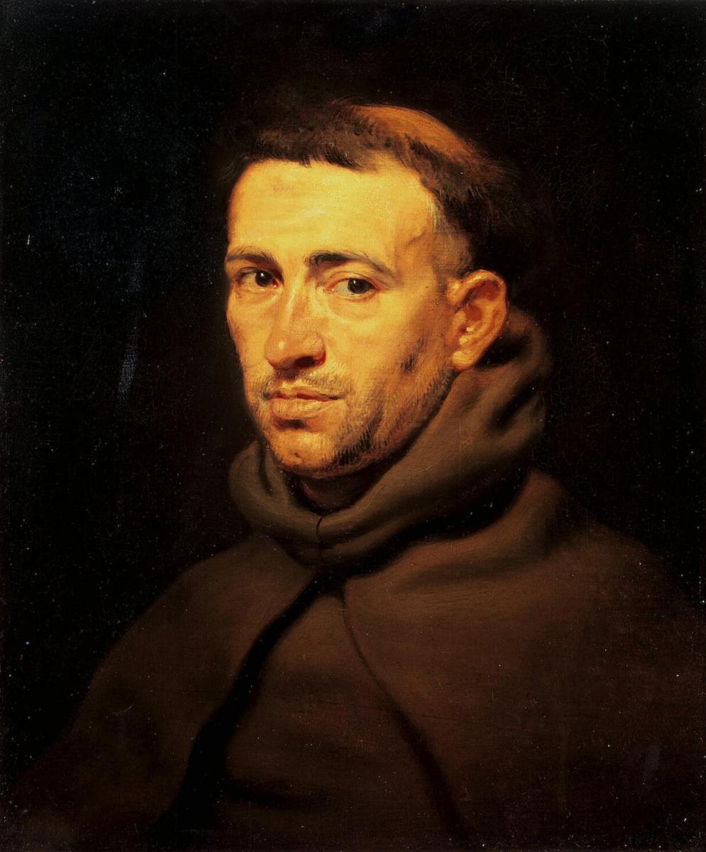 Питер Пауль Рубенс. Голова францисканского монаха
