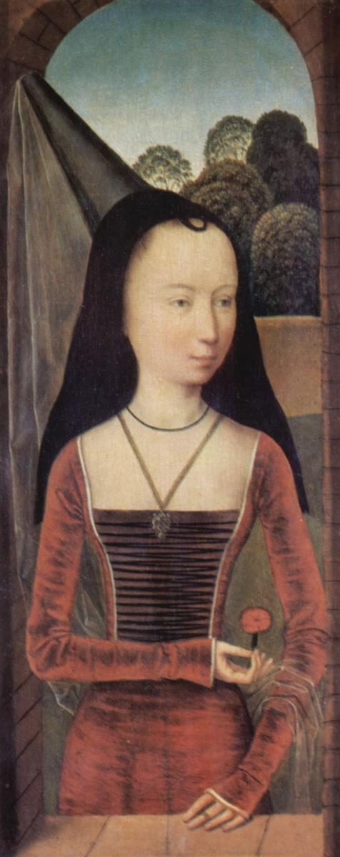 Ганс Мемлинг. Портрет молодой женщины