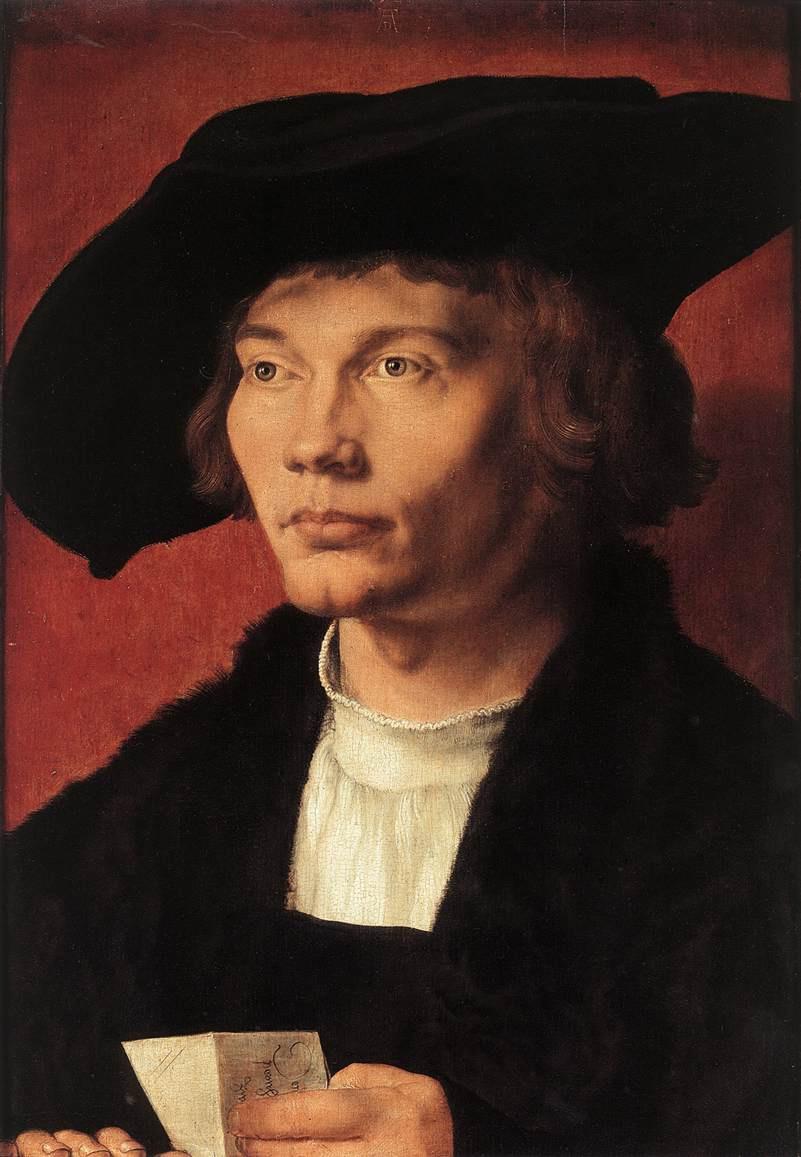 Albrecht Durer. Portrait of Bernard von Rizena