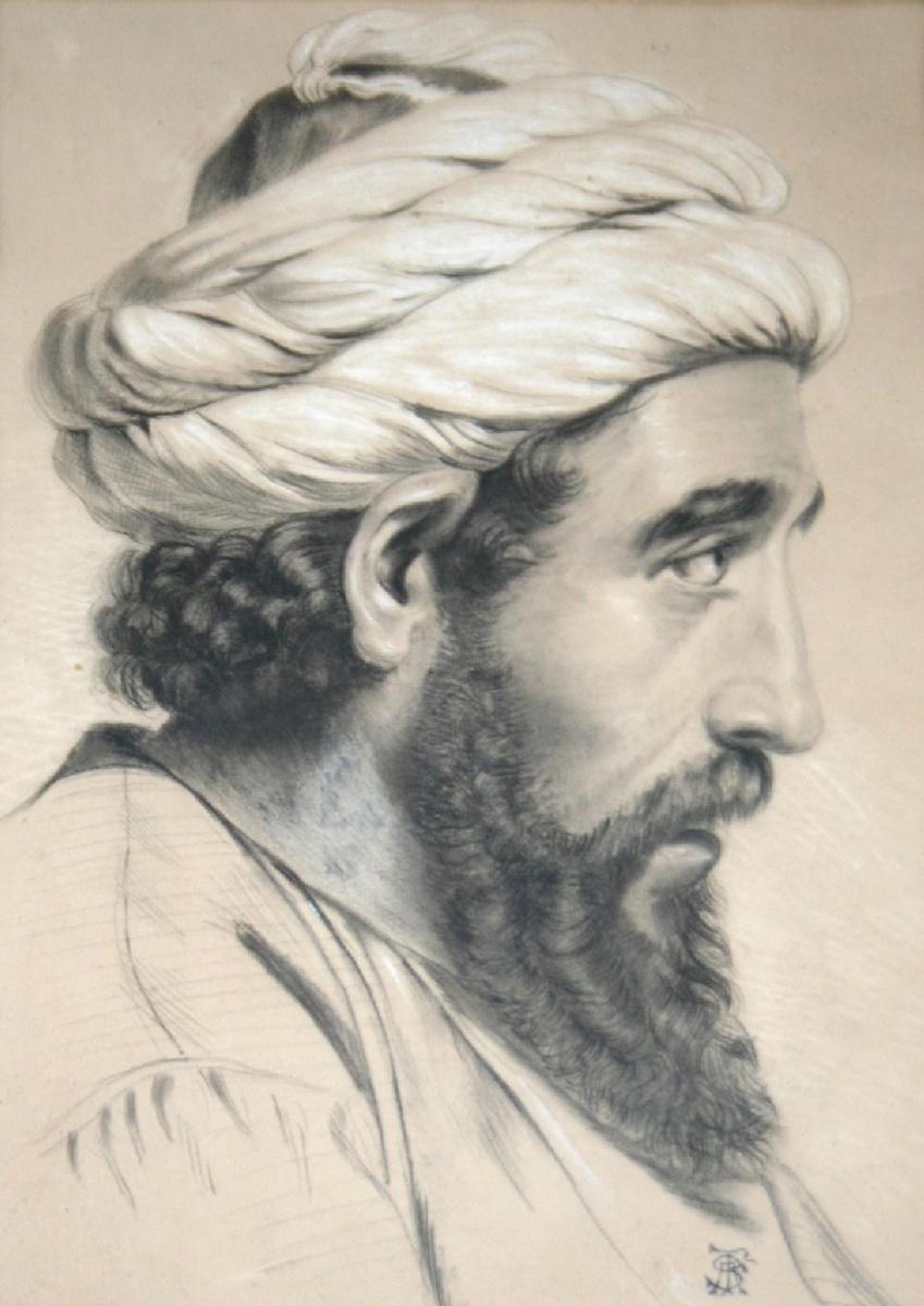 Энтони Фредерик Огастас Сэндис. Портрет араба