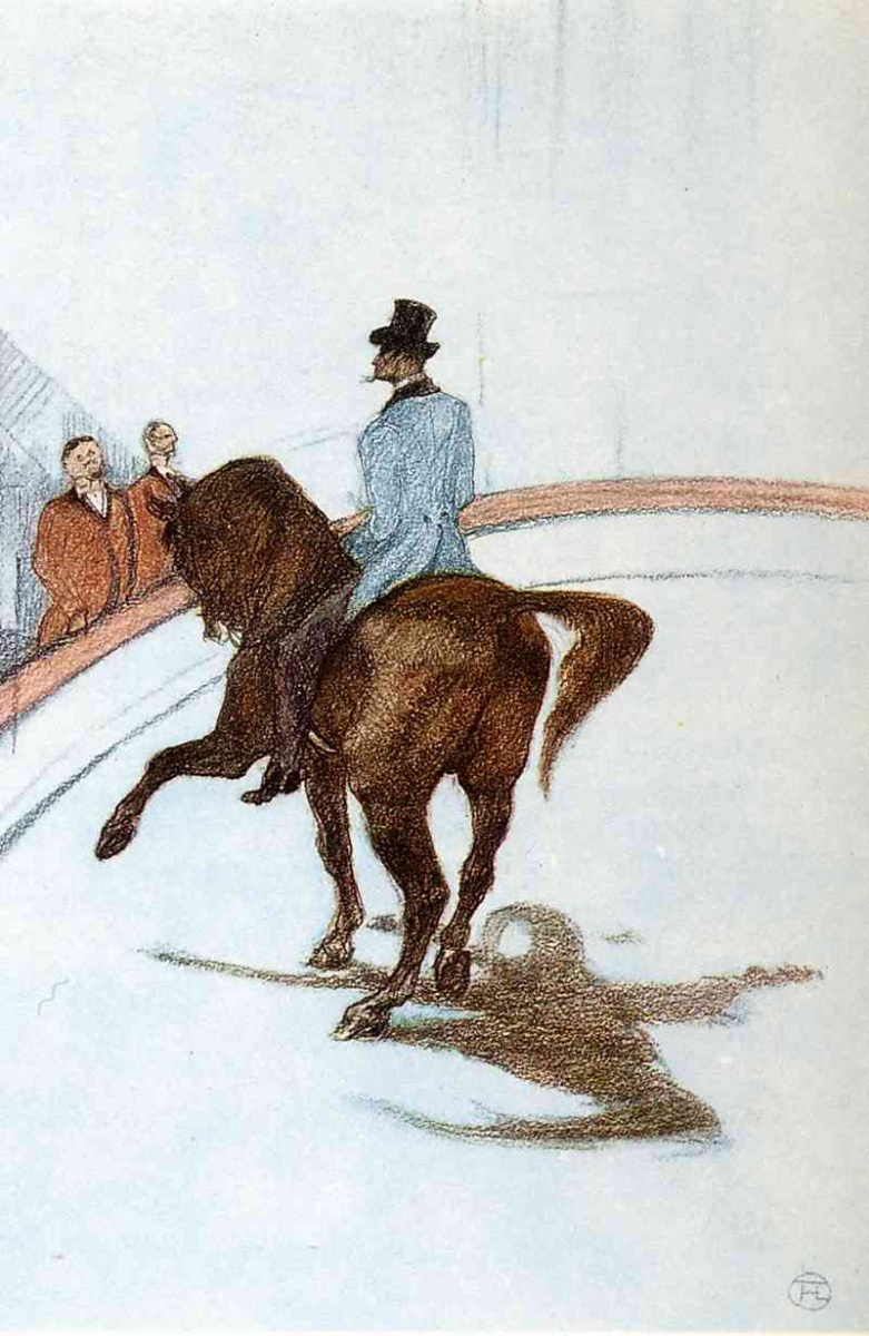 Анри де Тулуз-Лотрек. В цирке. Испанская прогулка