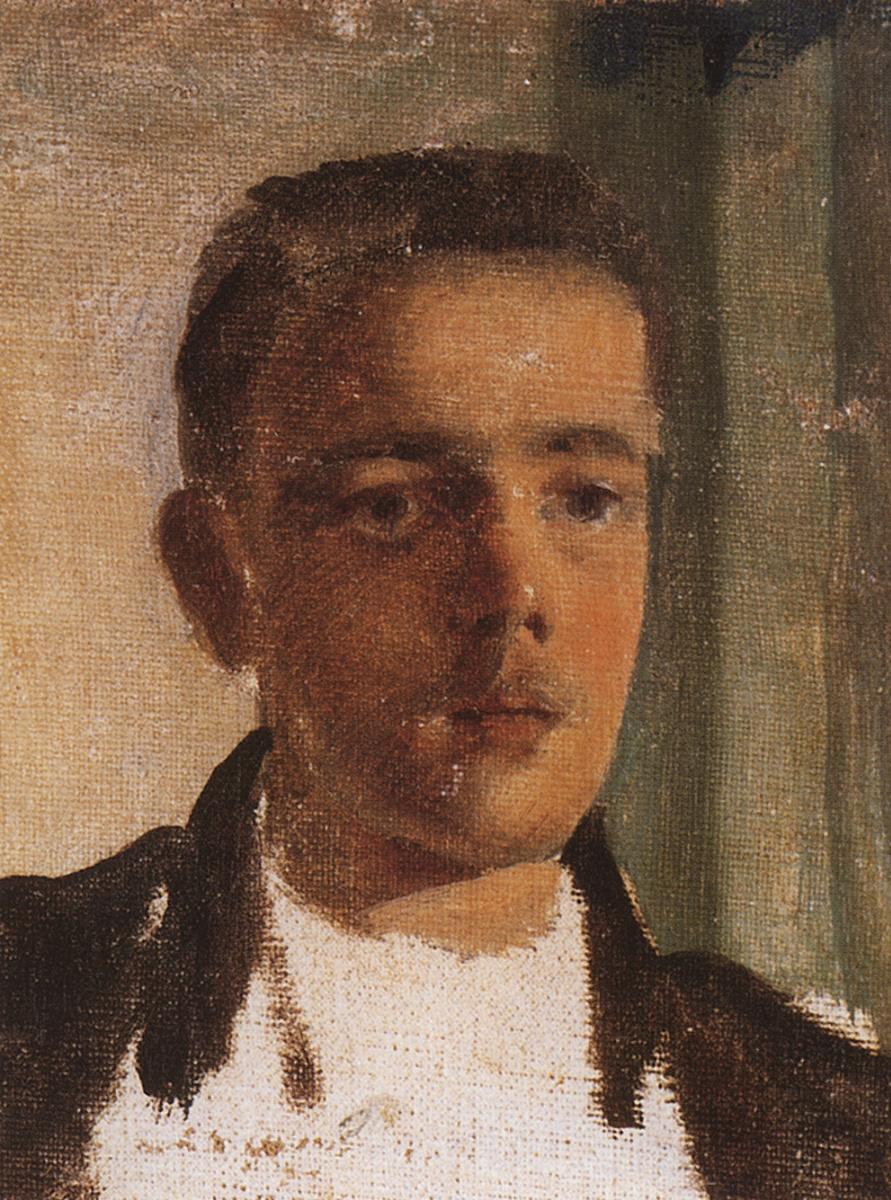 Константин Андреевич Сомов. Портрет С. П. Дягилева