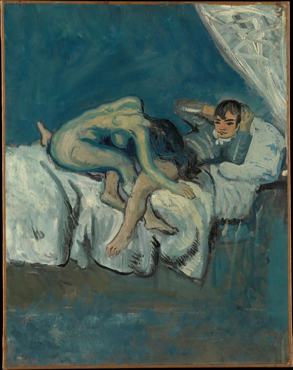 Пабло Пикассо. Эротическая сцена
