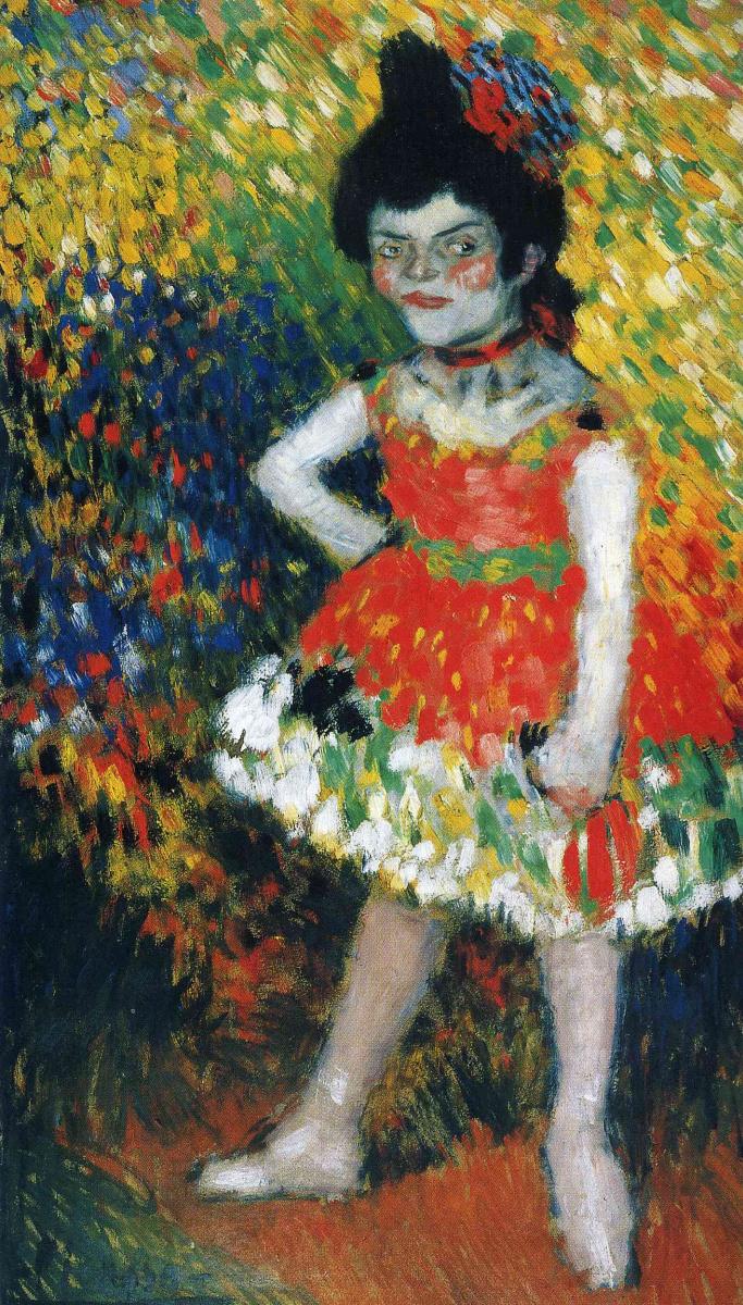 Пабло Пикассо. Нана