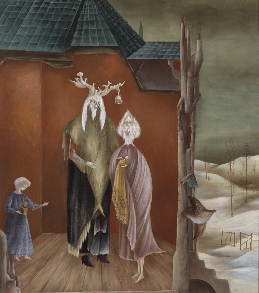 Leonora Carrington. King elk. Fragment