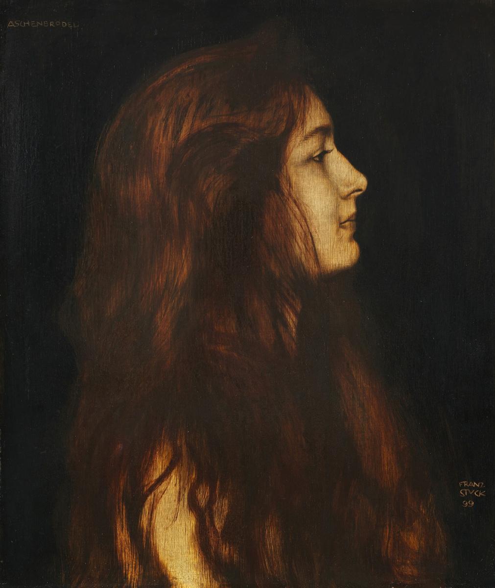 Franz von Stuck. Cinderella. 1899