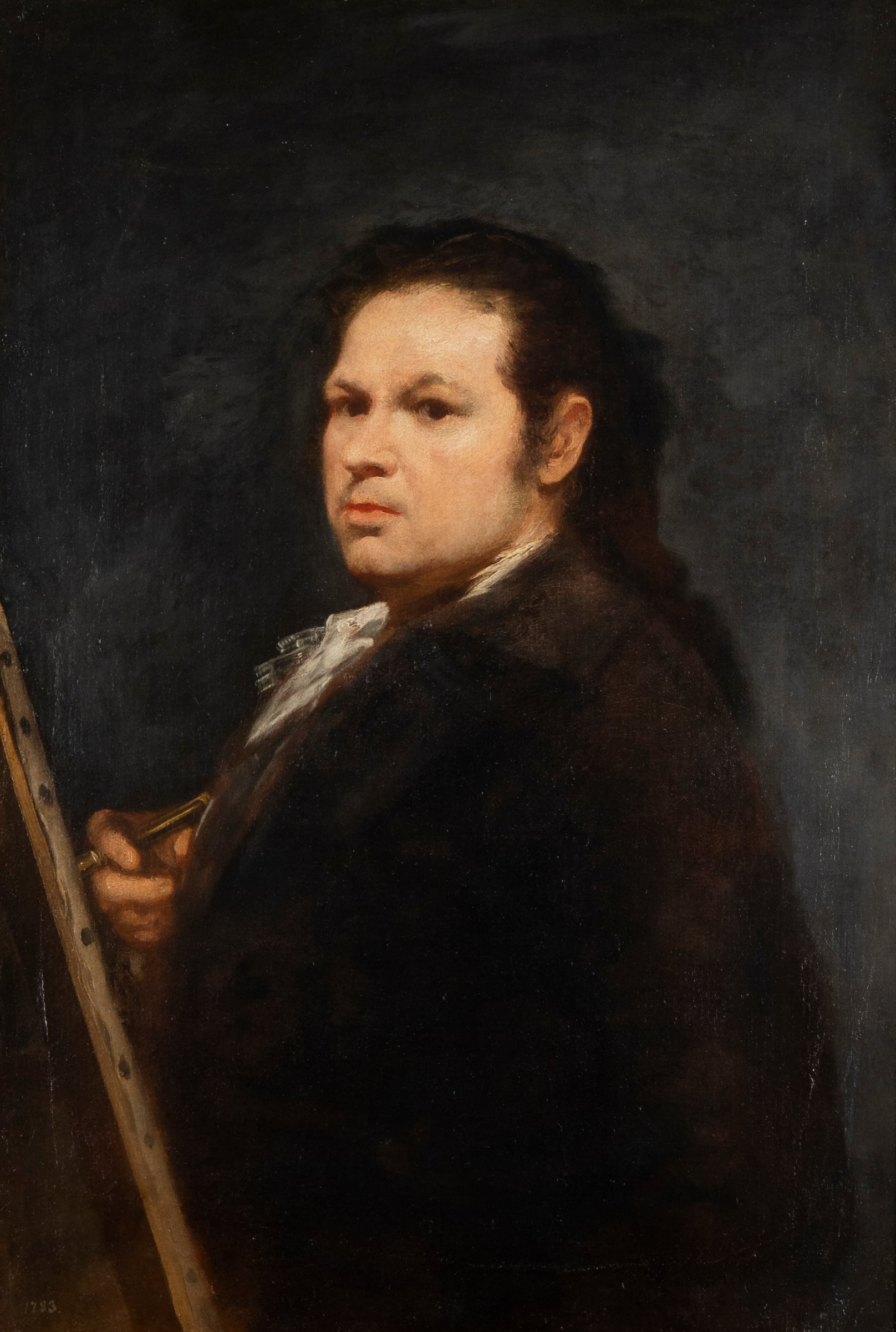 Self-portrait Francisco Goya 1783, 86×60 cm