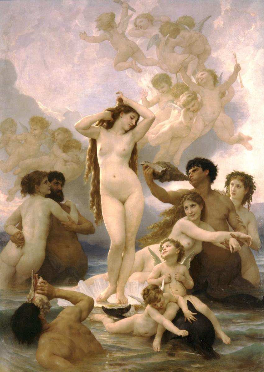 Адольф Вильям Бугро. Рождение Венеры