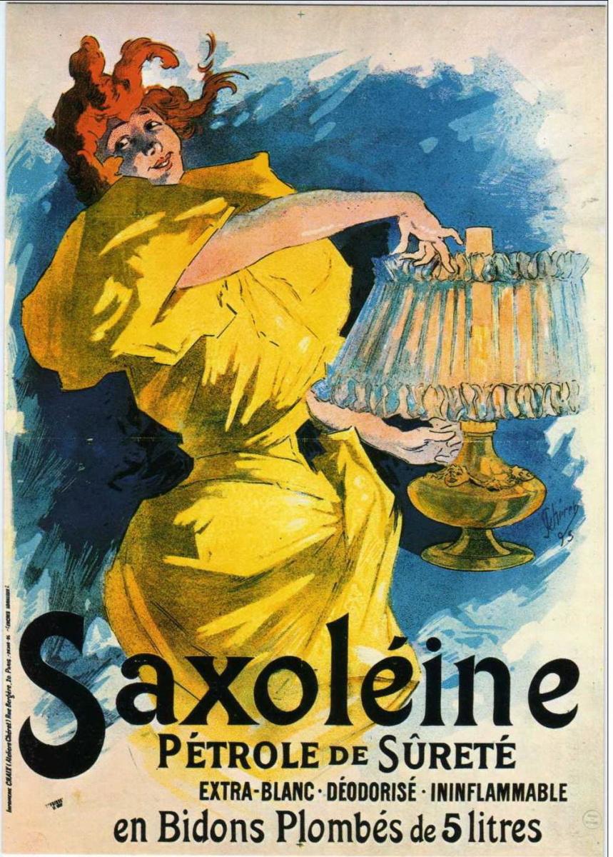 Jules Chere. Saxelin - safe kerosene