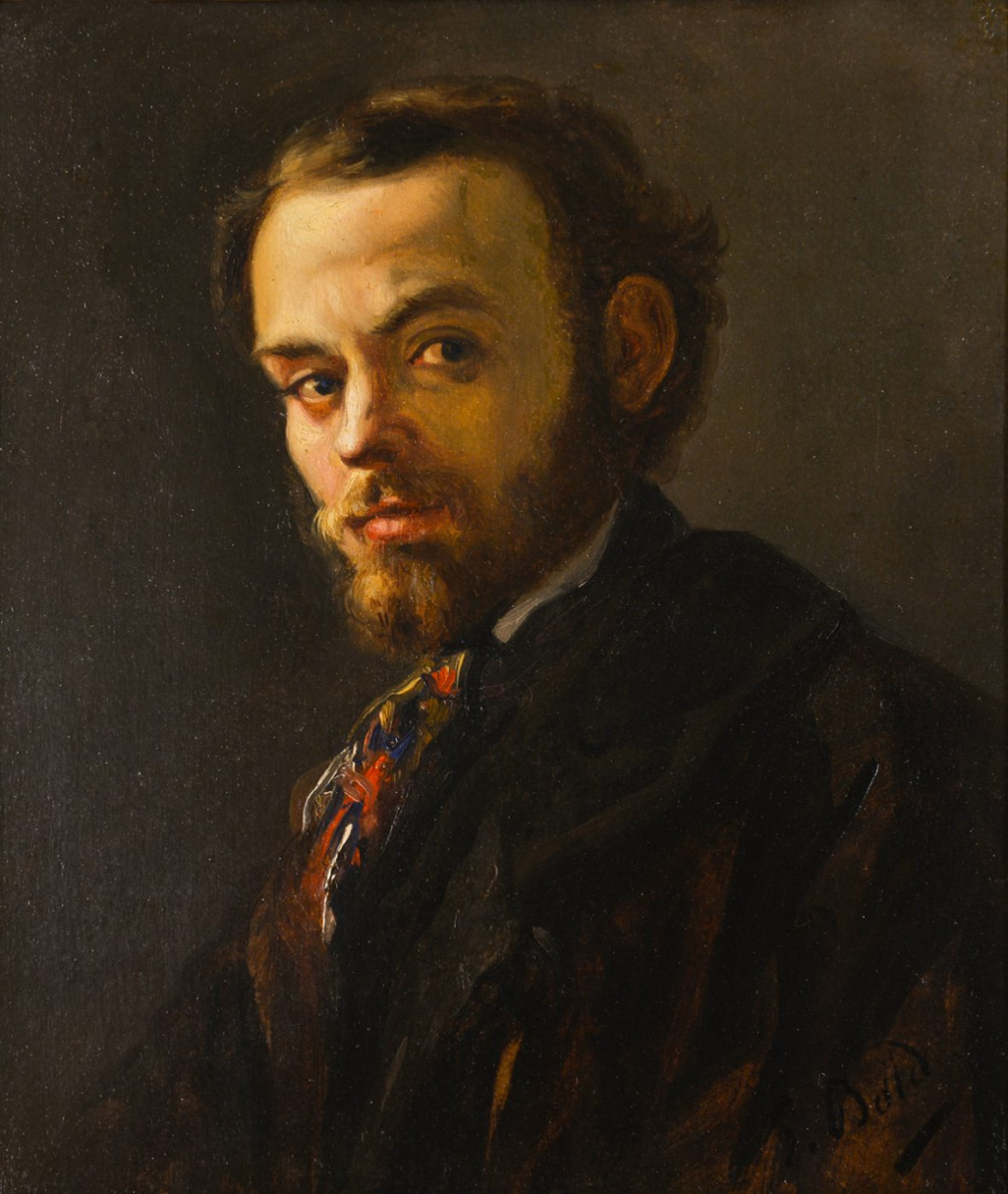 Giovanni Boldini. Portrait of Vincenzo Cabianca