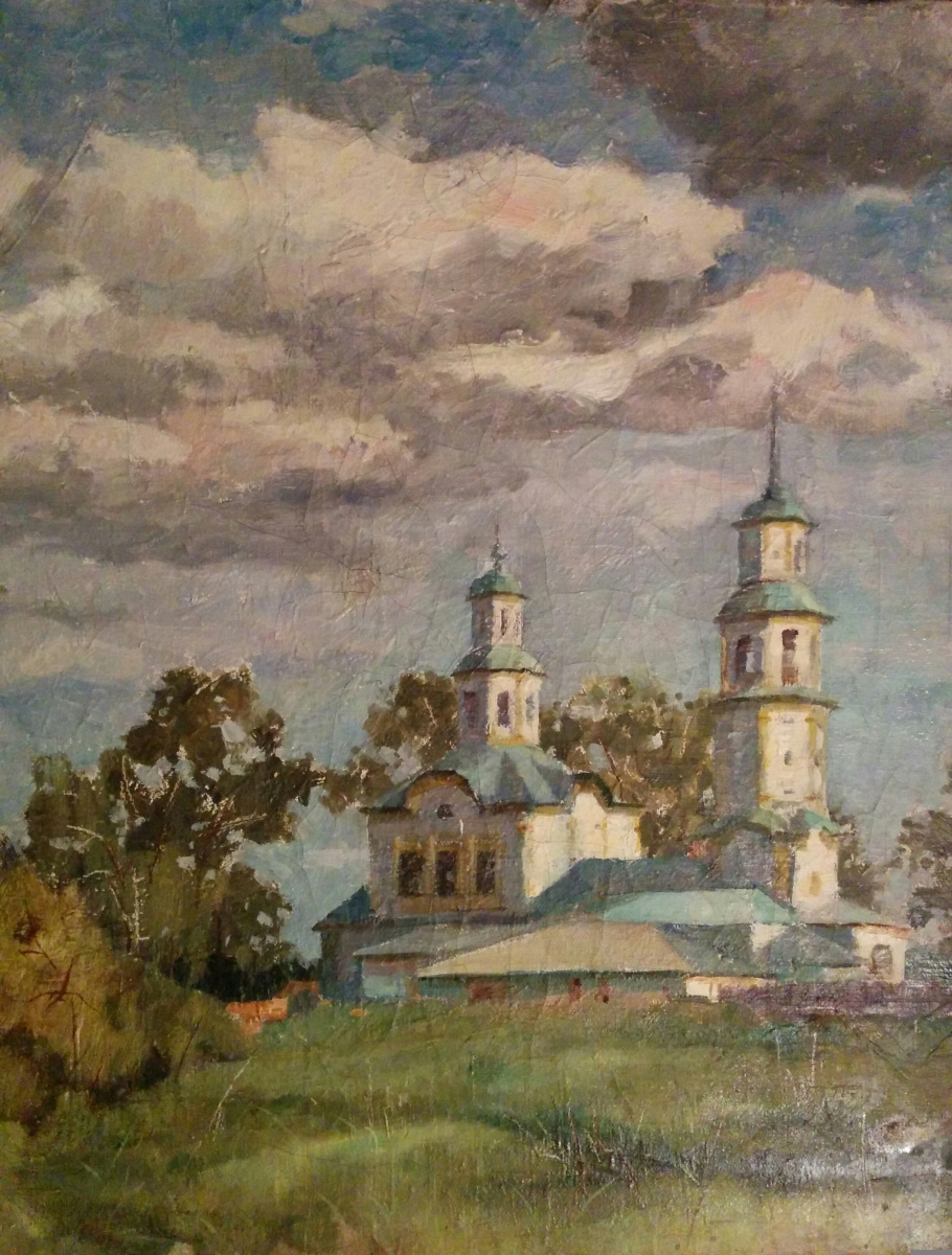 Аркадий Павлович Лаптев. Старая церковь