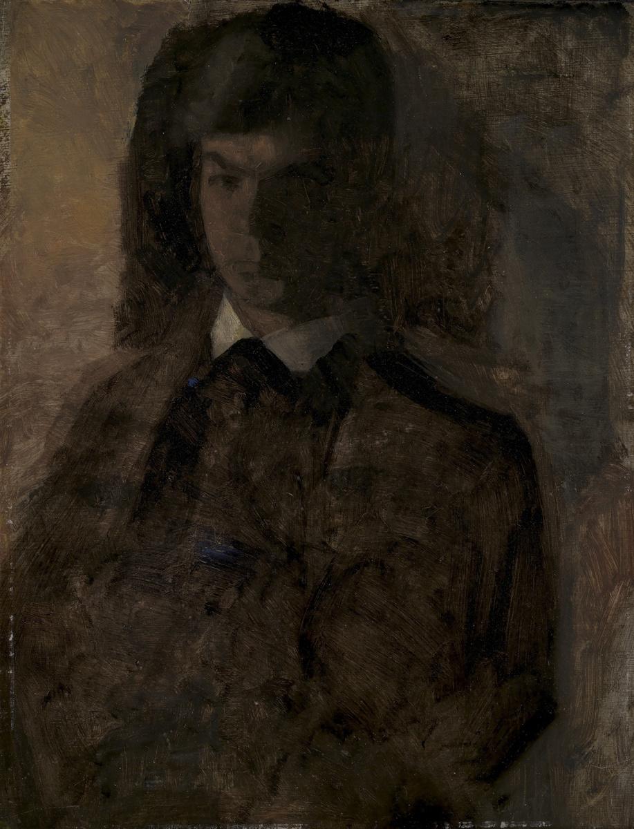 Вильгельм Хаммерсхёй. Свен Хаммерсхёй, брат художника