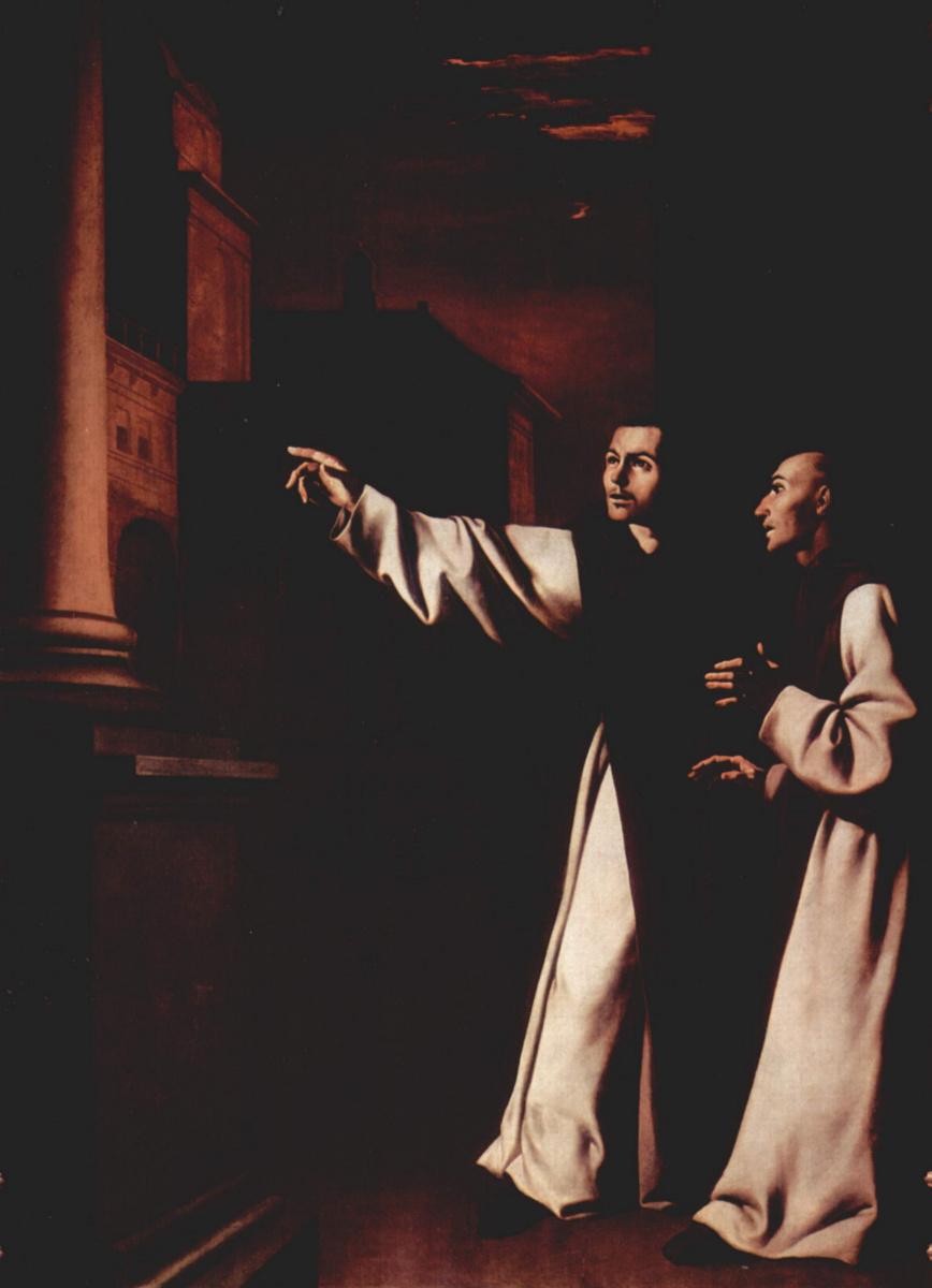 Francisco de Zurbaran. Vision Pedro Salamanca
