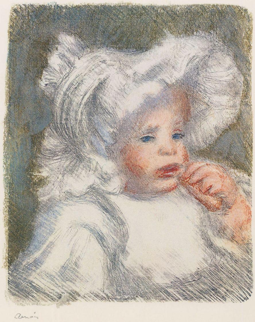 Pierre-Auguste Renoir. Child with biscuit