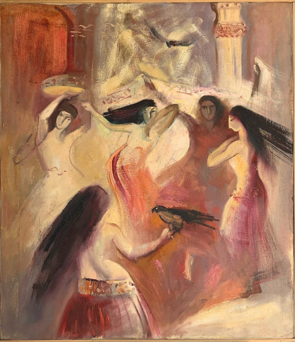 Alena Sukhoborova-Kazarina. East Dance